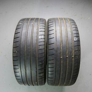 2x-Dunlop-SP-Sport-Maxx-GT-225-40-R18-92Y-DOT-2912-4-mm-Sommerreifen
