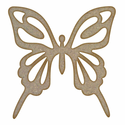 MDF Laser Cut Craft Blanks in Various Sizes Butterfly Design 5
