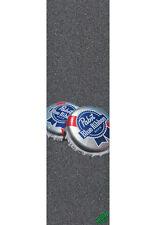 "Mob Griptape pbr caps and Cans Big 9""x33"" skateboard longboard minicruiser"