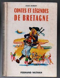 Contes-et-Legendes-de-BRETAGNE-Nathan-1974-Superbe-etat