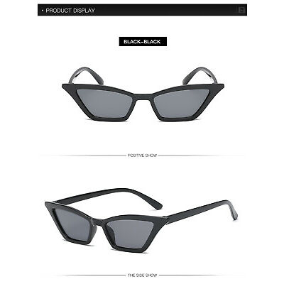 Vintage Cat Eye Retro Sunglasses Women Small Frame Shades UV400 Glasses FASHION