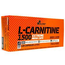 12,54€/100g, Olimp L-Carnitine 1500 Extreme Mega Caps, 120 Kapseln