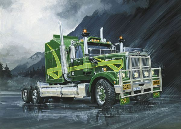 Italeri 1 24 Western Stella Australiane Camion  719