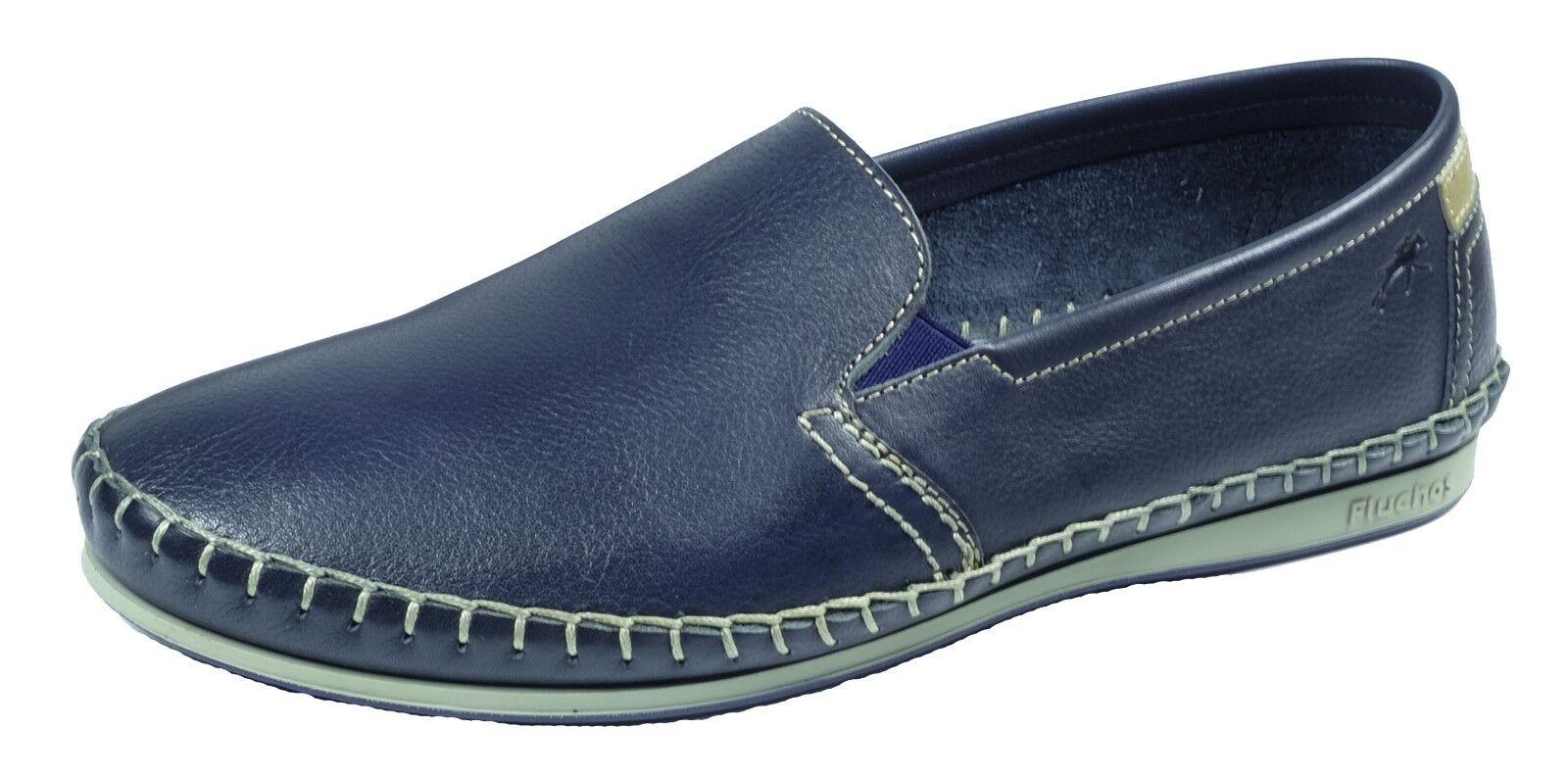 ZAPATOS  HOMBRE/ Herren Schuhe FLUCHOS TALLA/SIZE DINGO AZUL/Blau  PIEL TALLA/SIZE FLUCHOS 39 Ref.8592 bc335f