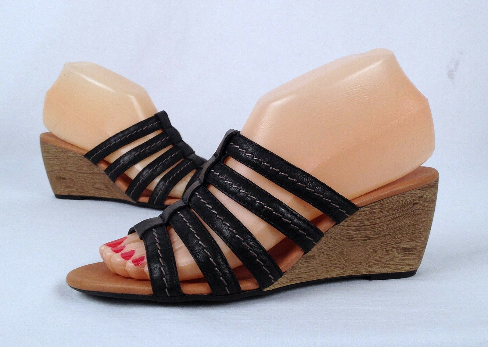 New   Paul Green 'Pasadena' Sandal- Black- Choose Size- 285  (02)