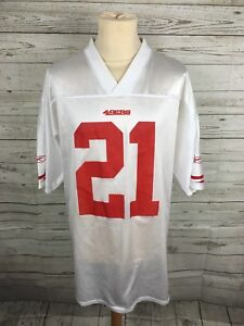 Men-039-s-San-Francisco-49ers-NFL-Shirt-Jersey-Large-21-GORE-Reebok