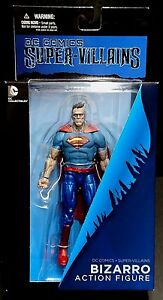DC-Comics-Super-Villanos-Bizarro-Figura-7-034-nuevo-Batman-Superman