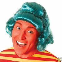 Adult Green Wig Chocolate Factory Worker Umpa Stag Hen Night Fancy Dress Costume