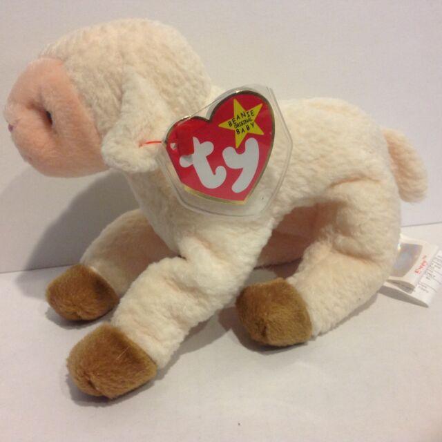 Ty Beanie Baby Ewey the lamb NWMT