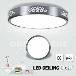 Led-Ceiling-Lights-Round-Panel-Down-Light-Bathroom-Kitchen-Cool-White-Wall-Lamp