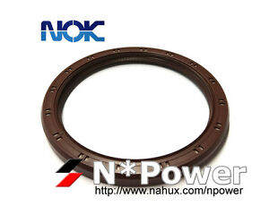 Image Is Loading NOK REAR MAIN CRANK OIL SEAL FOR MITSUBISHI
