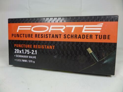 """20/"""" x 1.7 x 2.10 BMX  Bike Inner Tube THORN RESISTANT New Schrader Valve"""