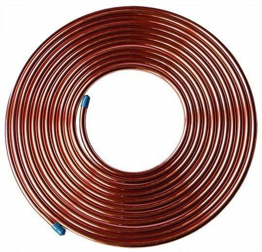 1//4 PRICE IS FINAL 50ft coil Aluminum tubing AC-125