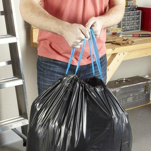 74 Count Multipurpose Hefty Strong Large 30 Gallon Trash Bags Drawstring