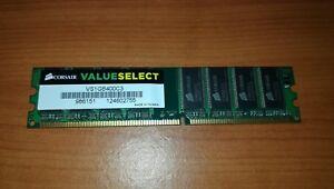 Corsair VS1GB400C3 Value Select 1 GB (1 x 1 GB) DDR 400 MHz - España - Corsair VS1GB400C3 Value Select 1 GB (1 x 1 GB) DDR 400 MHz - España