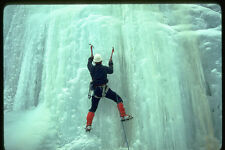 599012 Ice climbing A4 Photo Print