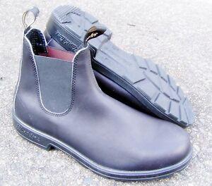 BLUNDSTONE-510-Classic-Black-Boots-New-Unworn