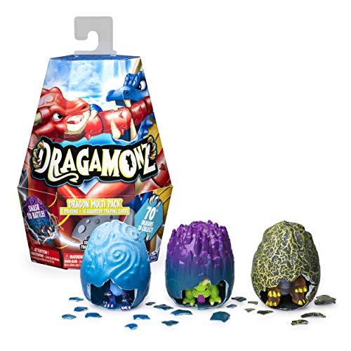 F Ultimate Dragon Pacote Com 6 boneco colecionável /& Tcg Dragamonz