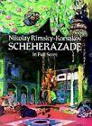 Nikolay Rimsky-Korsakov: Sheherazade (Full Score) by Nikolay Rimsky-Korsakov (Paperback, 1997)