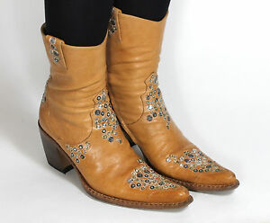 Westernstiefel Cowboystiefel Catalan Style Line Dance Texas Boots Free Lance 38