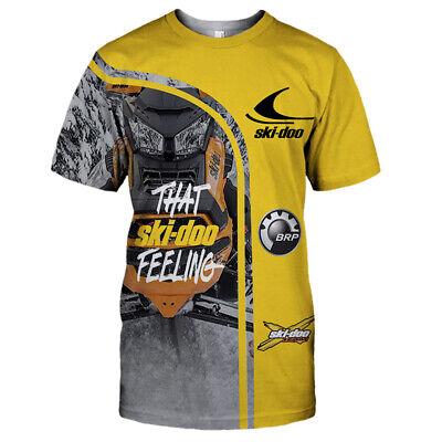 Free shipping-Top Men/'s shirts Ski-doo Hoodie 3D