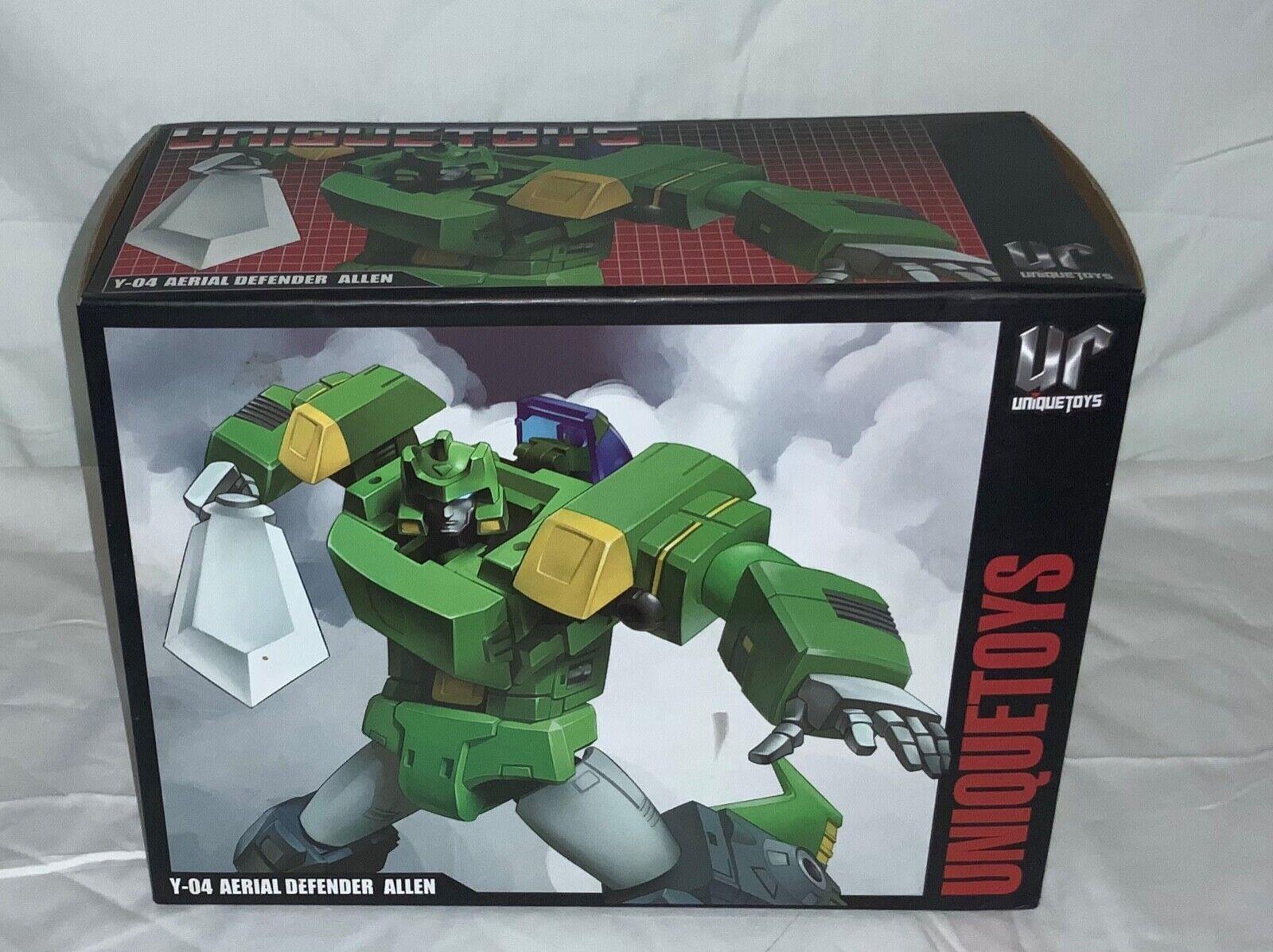 Unique Toys UT Y-04 Allen Transformers Springer Masterpiece MP