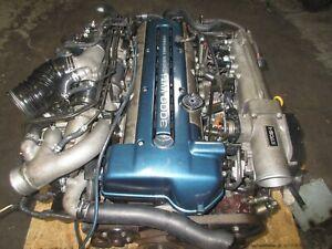 Details about 98 01 TOYOTA SUPRA ARISTO LEXUS 2JZGTE VVTI ENGINE JDM 2JZ  VVTI MOTOR WIRING ECU