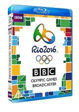 Rio 2016 Olympic Games 3x Blu-ray NEU Eröffnungs- Schlußfeier Highlights Olympia