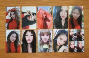 Red-Velvet-Peek-A-Boo-039-Perfect-Velvet-039-Official-Photocard-Select-Member