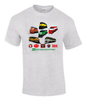 Burlington Northern Heritage Authentic Railroad T-shirt [17]