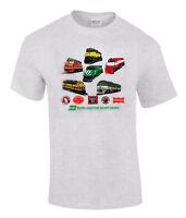 Burlington Northern Heritage Authentic Railroad T-shirt [17]