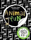 Lift the Flap Animal Fun: Big Busy Colouring by Make Believe Ideas (Paperback, 2014)