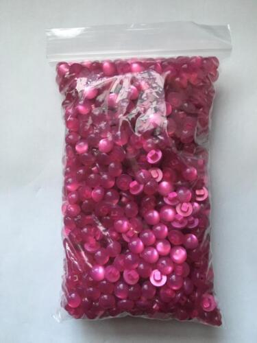 Los botones de vástago en forma de bola de Media Perla 10mm//16L Tamaños de envase 12//25//50