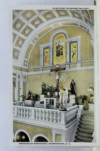 Washington-DC-Franciscan-Monastery-Mount-Calvary-Sanctuary-Postcard-Old-Vintage