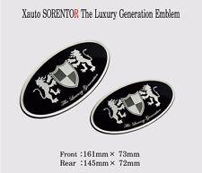 Art X Generation Front + Rear EMBLEM Badge 2EA for KIA Sorento 2010 2012