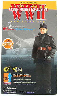 """Dragon Cyber Hobby 1/6 scale 12"""" WWII German Tiger Ace Michael Wittmann 70370S"""