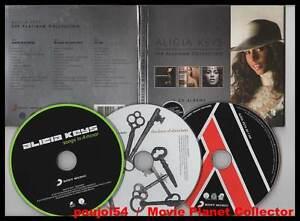 ALICIA-KEYS-034-The-Platinum-Collection-034-3-CD-Digipack-2010