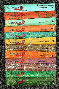 Auroshikha-12-Flavor-and-Spice-Incense-Stick-Sampler-12-x-10-gm-Packs-Set-A