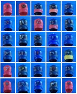 2 NEW MLB MINI BASEBALL TEAM CAPS HATS CAKE TOPPER DECORATIONS GIFT ... cae4dcc9e6d