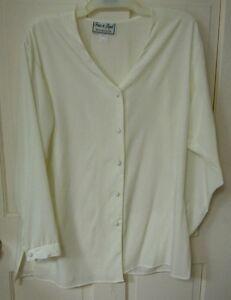 Image Is Loading Fritz Amp Lloyd Cream Shirt Sz 6