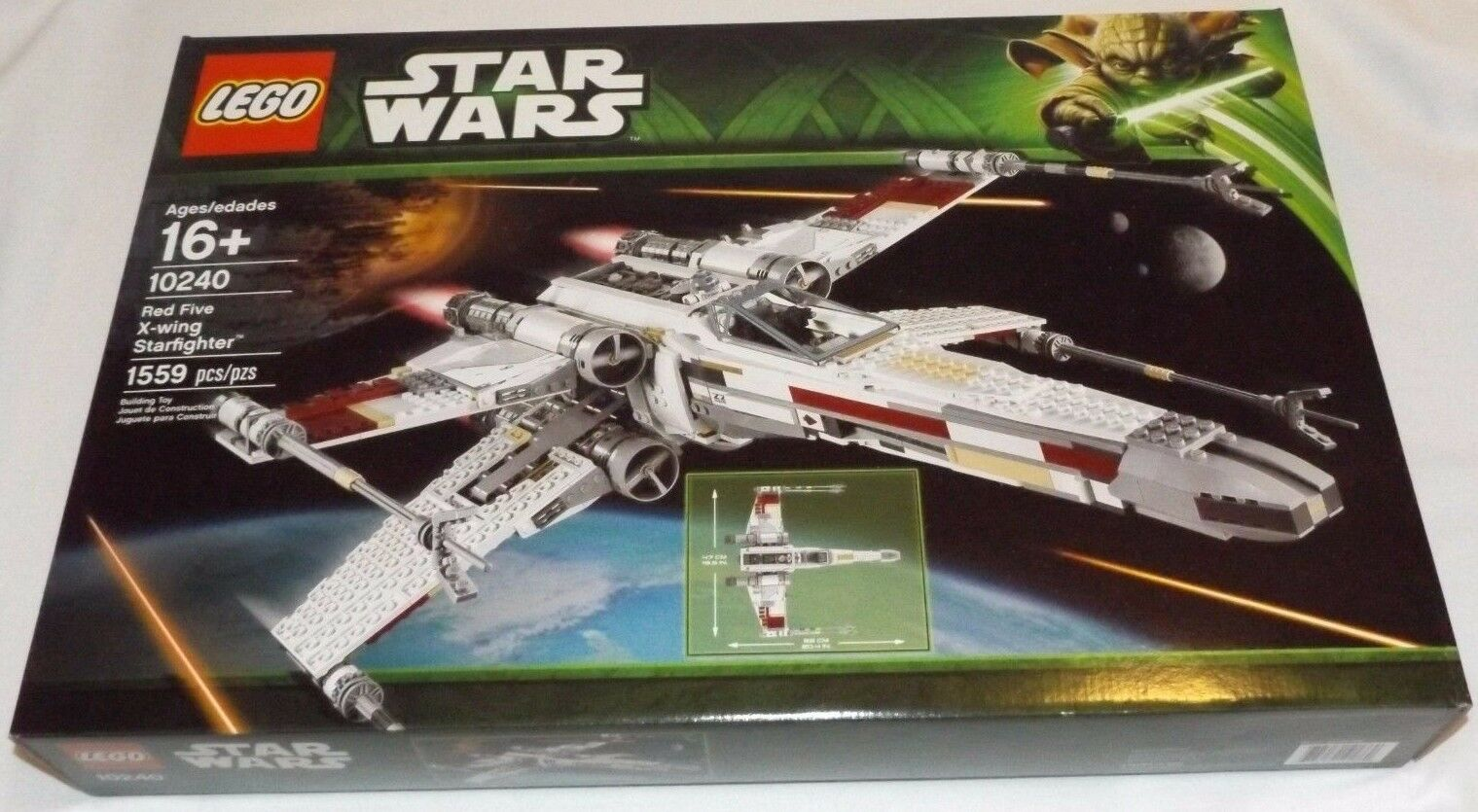 LEGO Star Wars rosso FIVE X-WING STARFIGHTER 10240 R2-D2 UCS Ultimate Collector 5