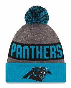 1465e5002ffac4 Image is loading Carolina-Panthers-2016-17-Players-Sideline-Sports-Knit-