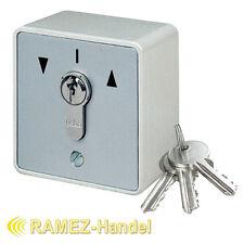 Schlüsseltaster Schlüsselschalter m. PHZ Tor Antrieb Motor Garagentor MS-APZ1-2T