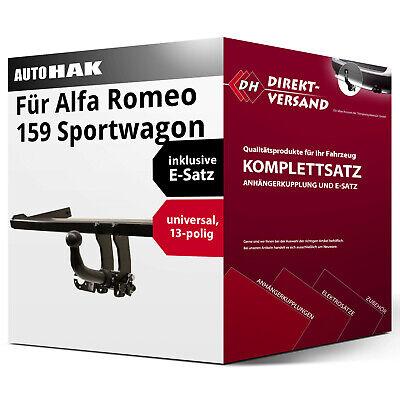 KIT 159 Sportwagon 06 Anhängerkupplung abnehmbar fahrzeugspezifisch E-SATZ