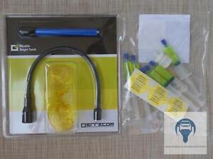 1-Set-UV-Lampe-Schuzbrille-zur-Lecksuche-Kfz-Klimaanlage-R134a-amp-R1234yf