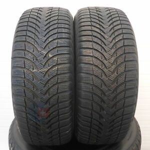 2 Stück 195/55 R15 Michelin - Alpin A4 - 85T - 6,8mm - Winterreifen