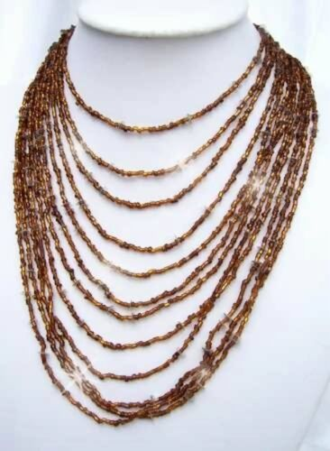 collar abalorios collar de perlas joyas nuevo K 572