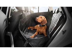 Couverture de protection arrière pour chien Audi Couverture de protection pour voiture Schondecke