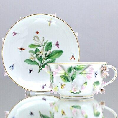 Ende Porzellantasse Teetasse mit Puppengesicht weiß 200ml 8,5cm NEU