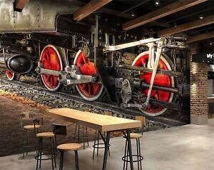 3D-tren-de-transporte-R58-transporte-Wallpaper-Mural-Sefl-Adhesivo-Desmontable-Zoe